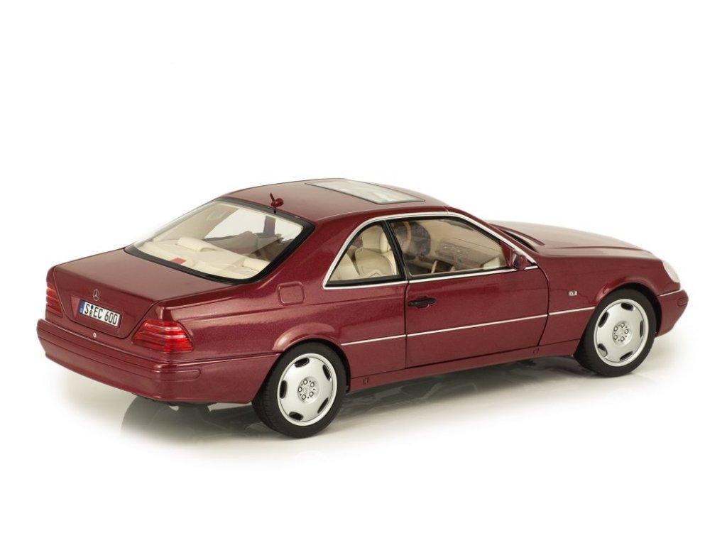 1:18 Norev Mercedes-Benz CL600 C140(W140) 1996 красный