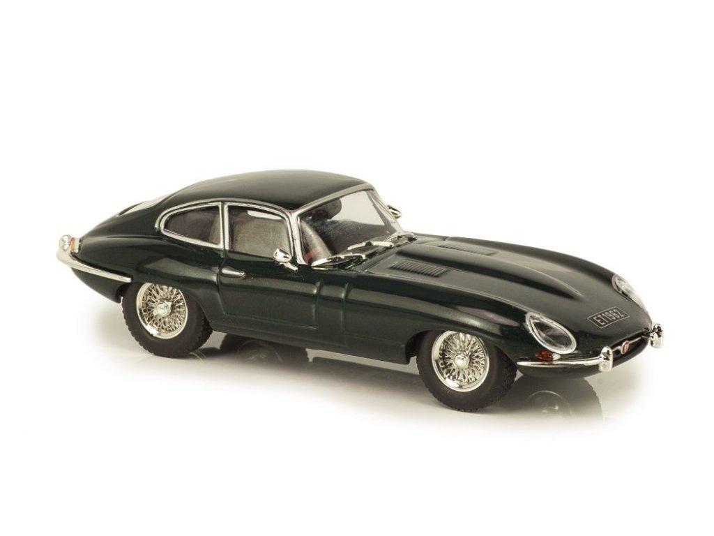 1:43 Atlas Jaguar E-type Coupe 1961 темно-зеленый