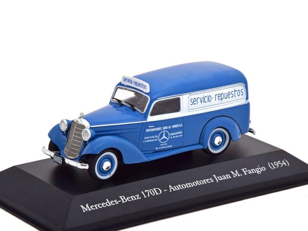 1:43 Altaya Mercedes-Benz 170D фургон 1954 Mercedes Service Juan Manuel Fangio
