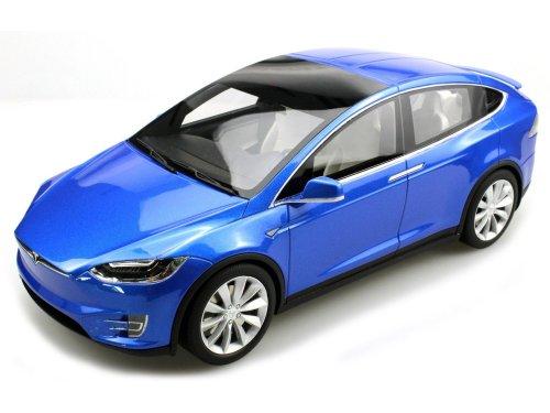 1:18 LS Collectibles Tesla Model X 2016 синий металлик