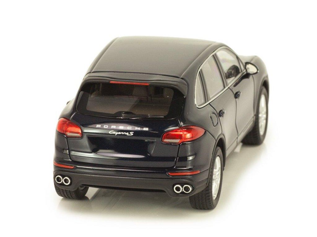 1:43 Minichamps Porsche Cayenne S Diesel 2014 темно-синий