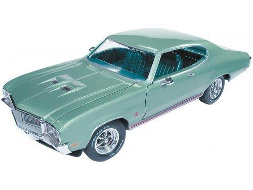 1:18 Auto World Buick Grand Sport Hardtop 1970 светло-зеленый металлик