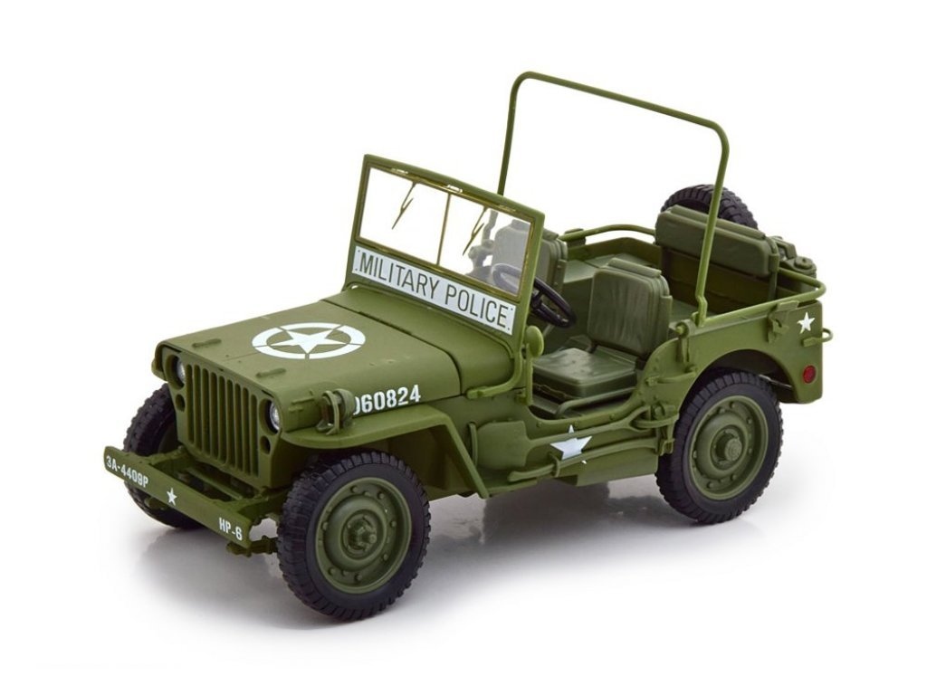 1:18 Auto World Willys Jeep 1941 хаки