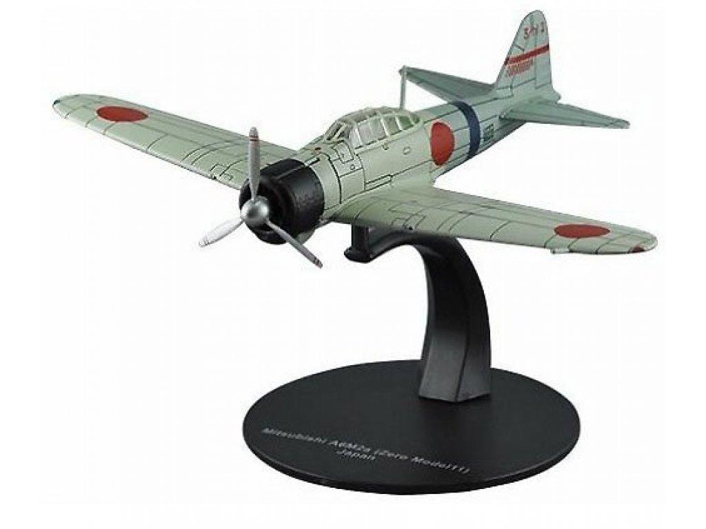 1:72 DeAgostini Mitsubishi A6M2 Zero 11