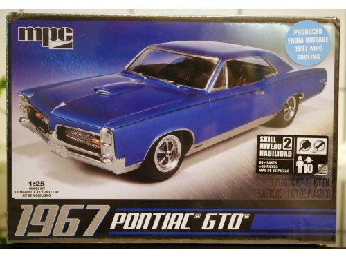 1:24 MPC Pontiac GTO 1967