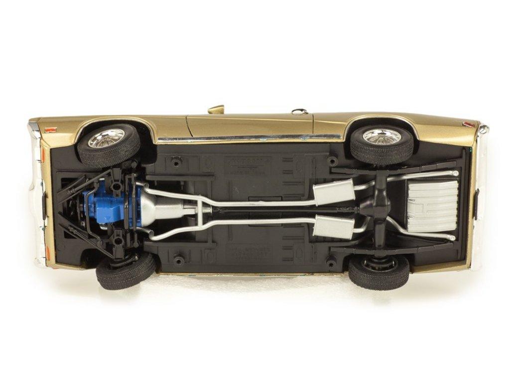 1:18 Welly Mercury Cougar XR7 1970 золотистый