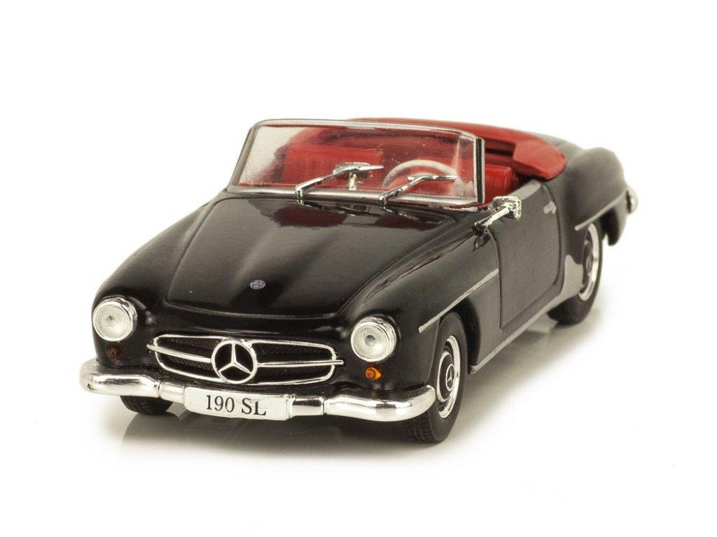 1:43 IXO Mercedes-Benz 190SL W121 (1955-1963) черный