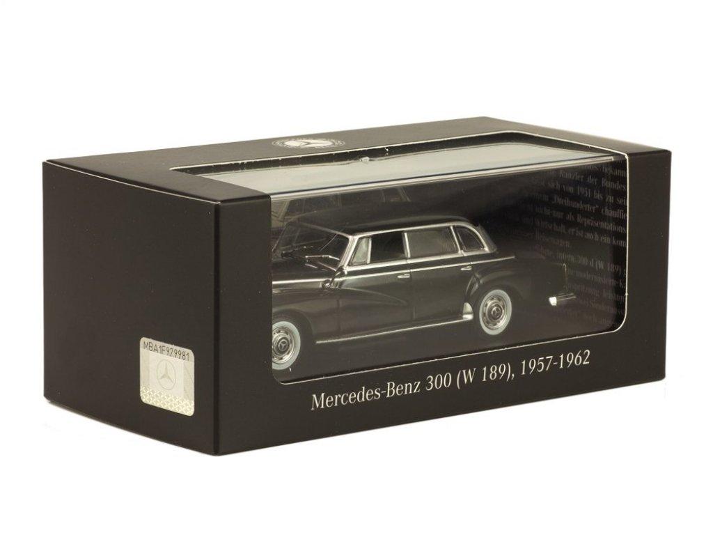 1:43 IXO Mercedes-Benz 300 Adenauer W189 1957 черный