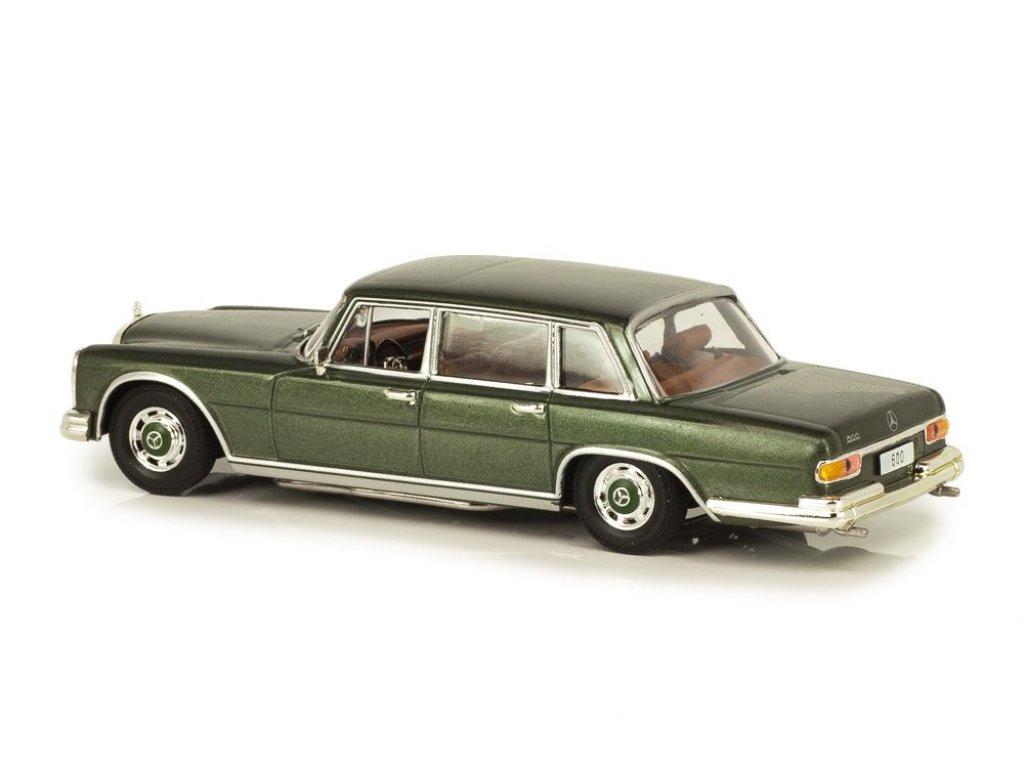 1:43 IXO Mercedes-Benz 600 W100 1963 зеленый металлик