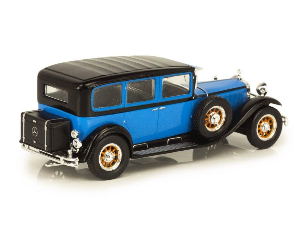 1:43 IXO Mercedes-Benz Nürburg 460 W08 (1928-1934) синий с черным