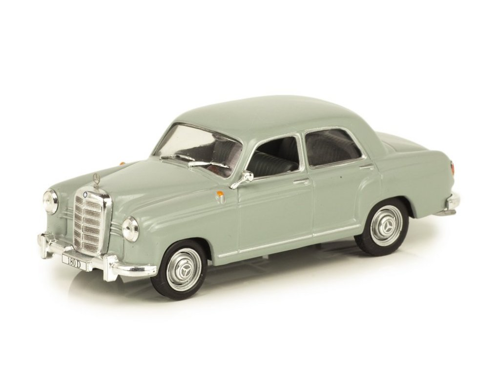 1:43 IXO Mercedes-Benz 180D Ponton W120 (1954-1959) серый