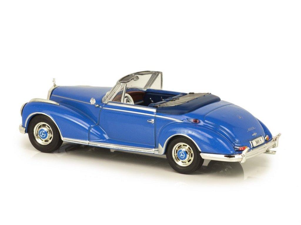 1:43 IXO Mercedes-Benz 300S Cabriolet W188 (1956-1958) голубой