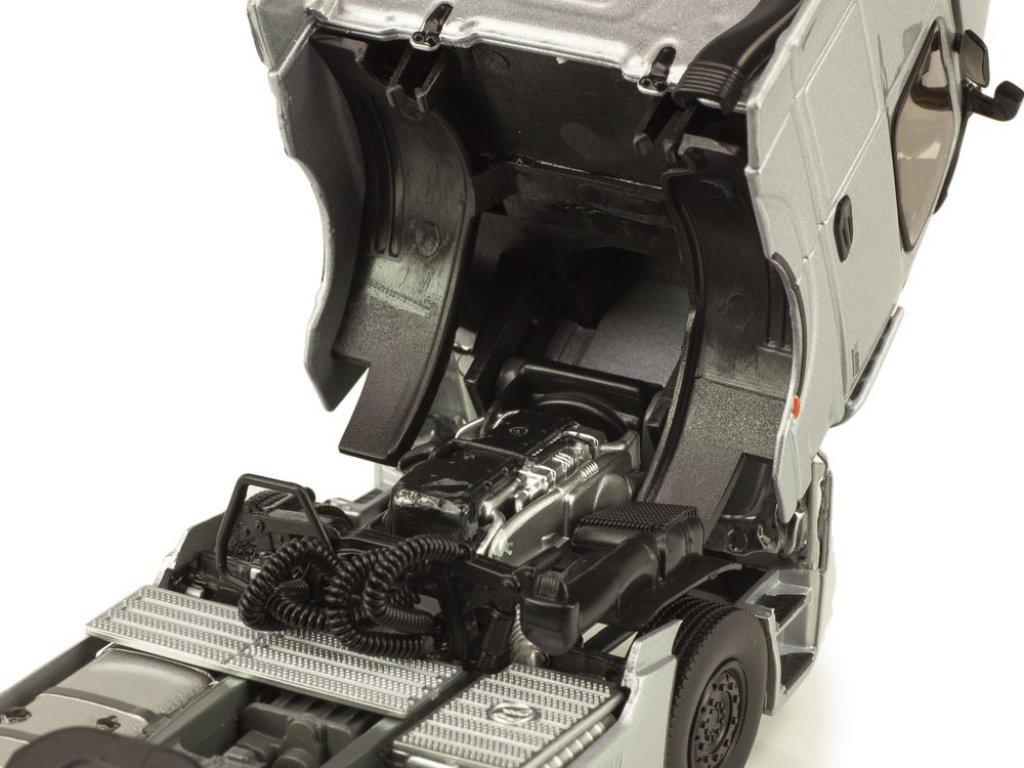 1:43 Eligor Mercedes-Benz Actros 1863 LS Limited Edition 1 с полуприцепом-рефрижератором 2019 серый