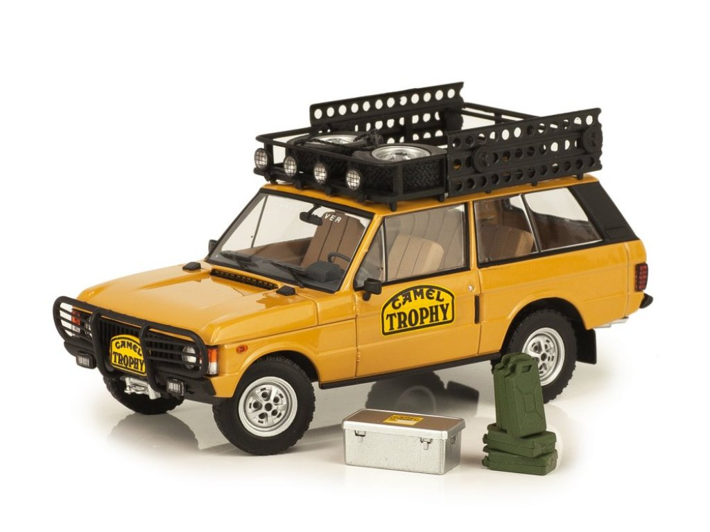 1:43 Almost Real Range Rover Camel Trophy Edition 1981-1982