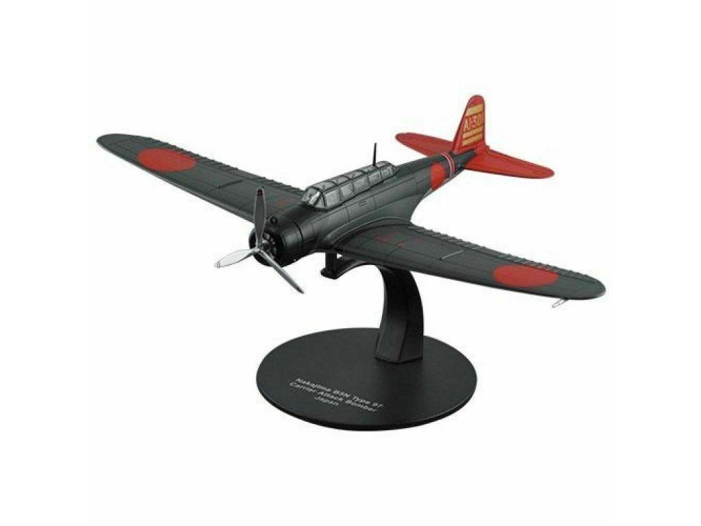 1:72 DeAgostini Nakajima B5N Type 97 Bomber