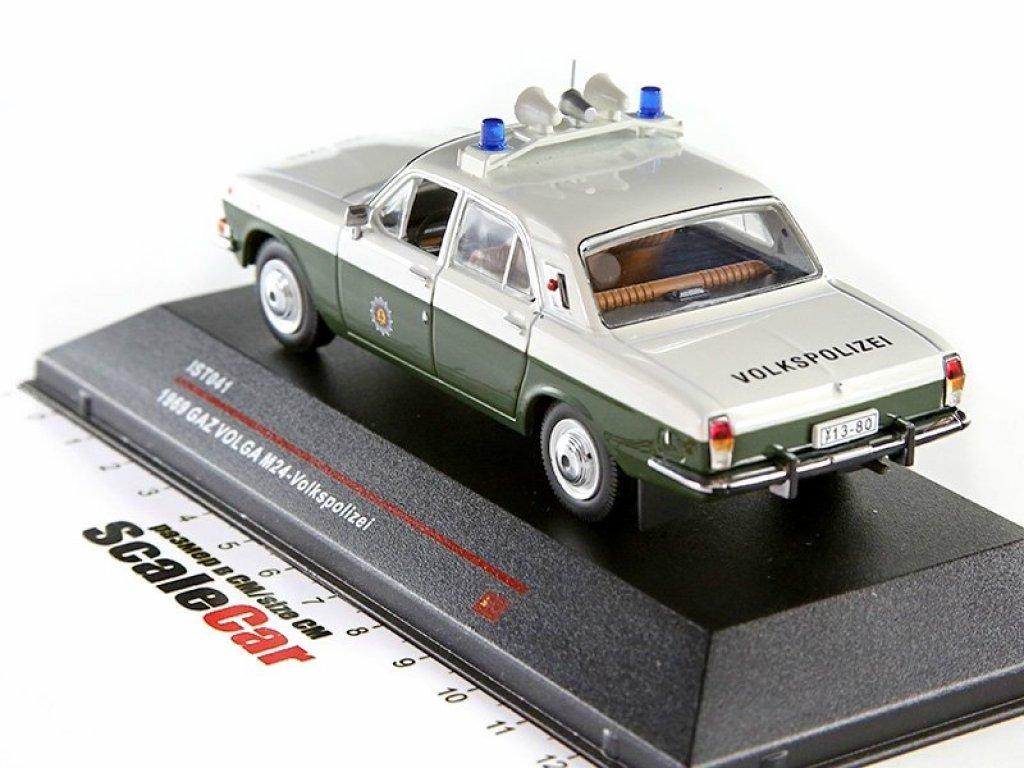1:43 IST Горький 24 Волга 1973 Volkspolizei Полиция ГДР