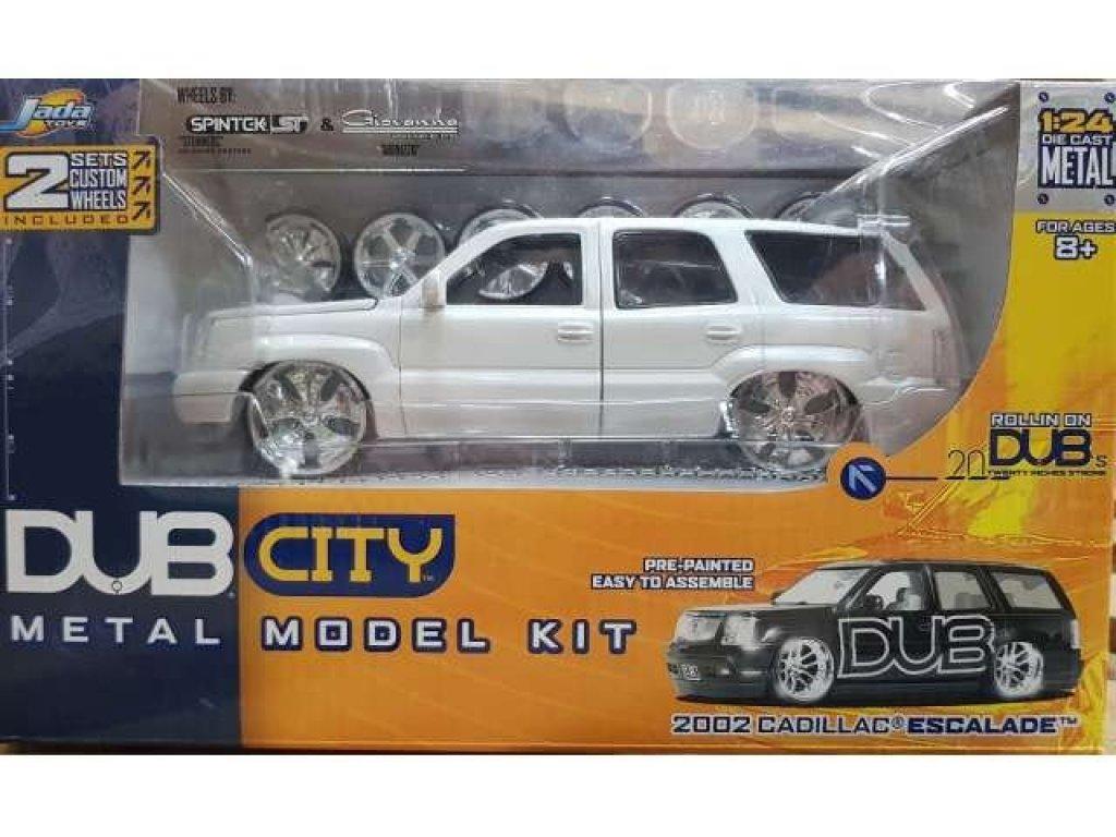 1:24 Jada Cadillac Escalade 2002 белый