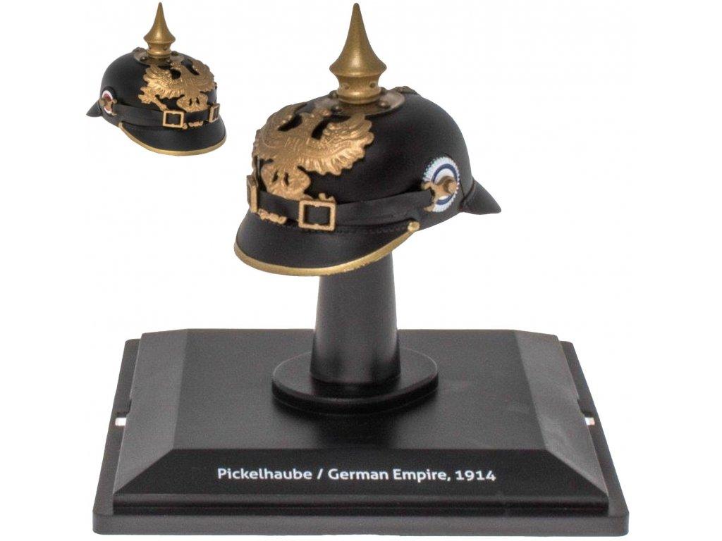 1:5 Altaya Исторические военные шлемы: Pickelhaube German Empire 1914