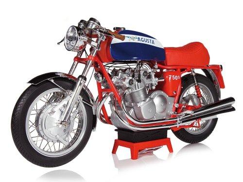 1:6 Vintage Motor Brands Agusta 750S 1972 красный с синим