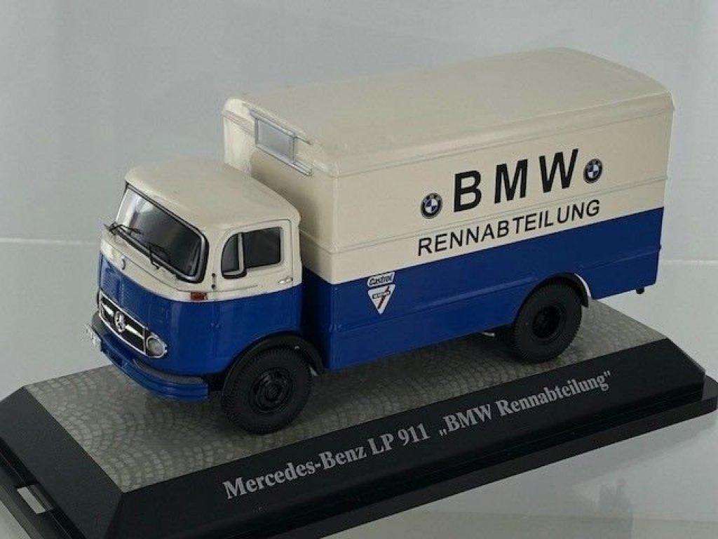 1:43 Premium ClassiXXs Mercedes-Benz LP911 фургон BMW Racing Department