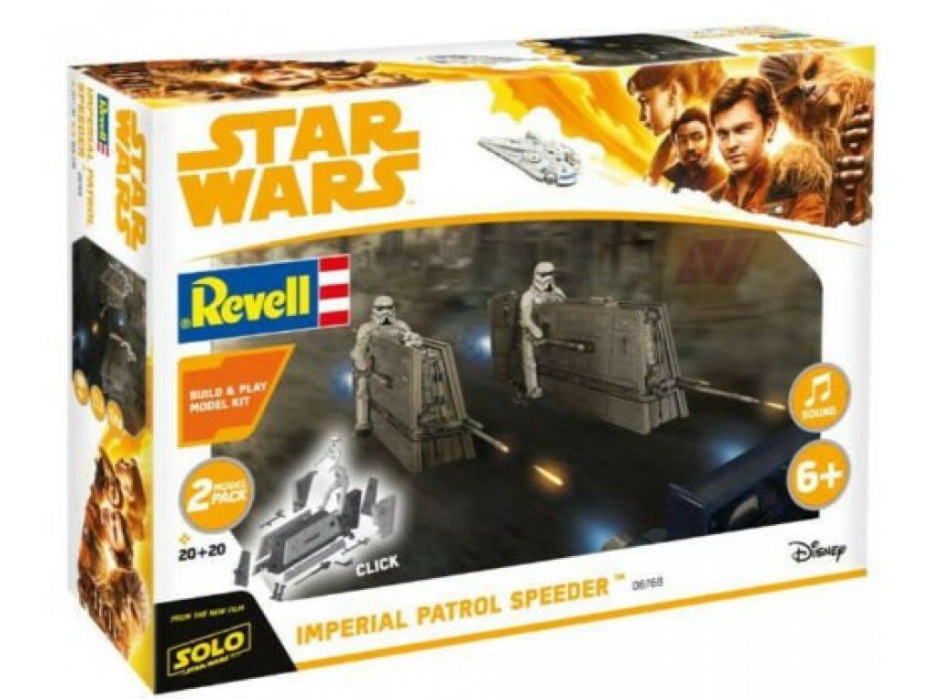 1:28 Revell Звездные Войны Han Solo Item B Star Wars Imperial Patrol Speeder