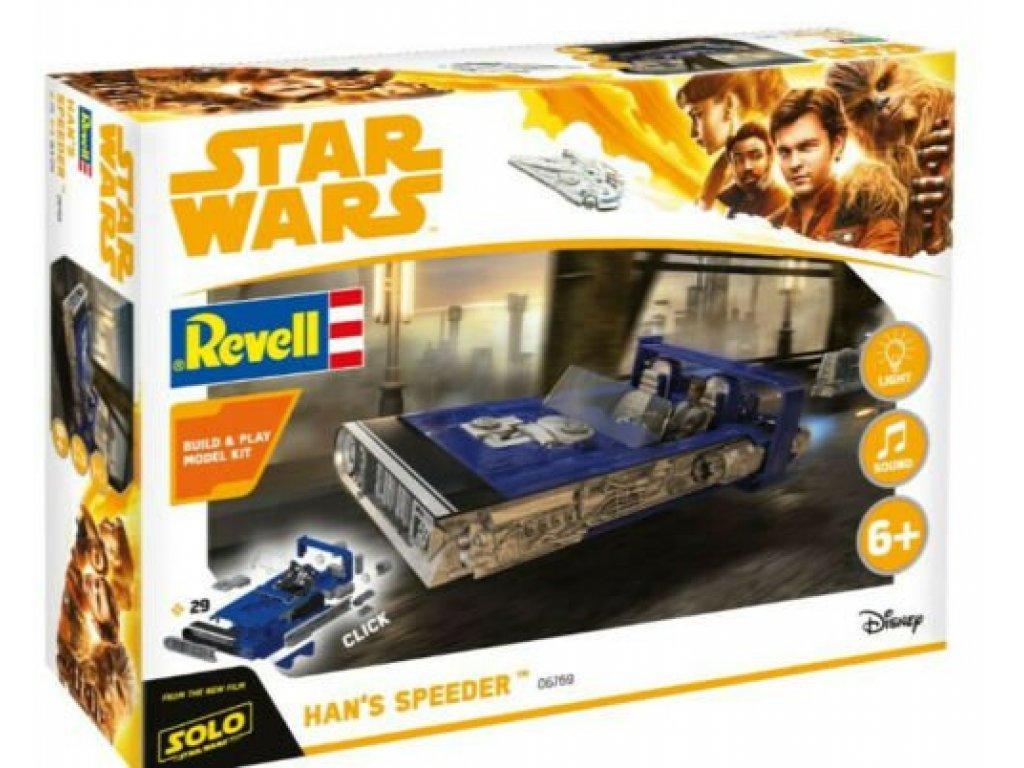 1:28 Revell Звездные Войны Han Solo Item C Star Wars Hans Speeder