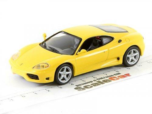 1:43 IXO Ferrari 360 MODENA 1999 желтый