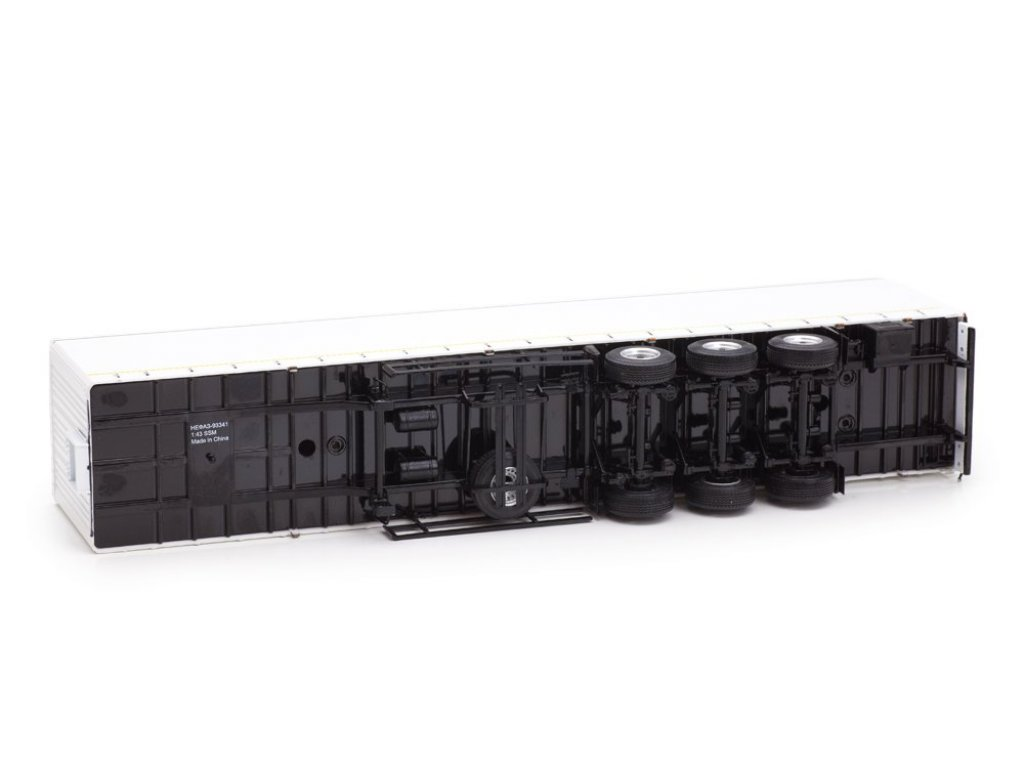 1:43 Start Scale Models КАМАЗ-54901 с полуприцепом НЕФАЗ-93341 белый