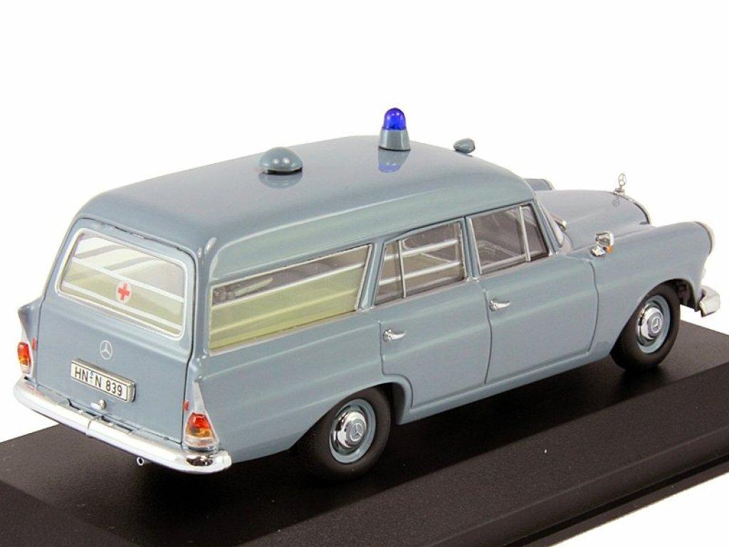 1:43 Minichamps Mercedes-Benz 190 W110 KTW Deutsches Rotes Kreuz скорая помощь