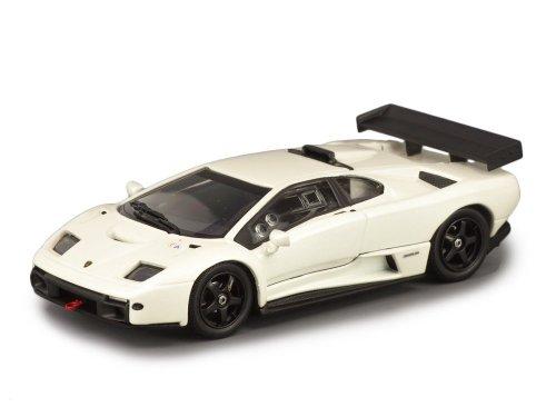 1:43 Kyosho Lamborghini Diablo GTR-S белый перламутр