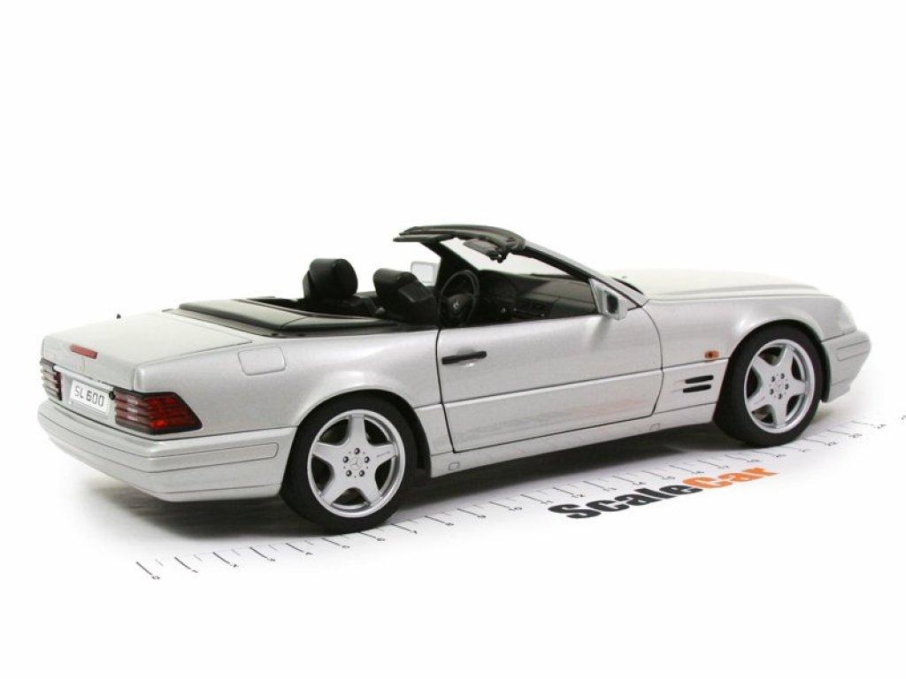 1:18 AUTOart Mercedes-Benz SL 600 R129 1996 серебристый