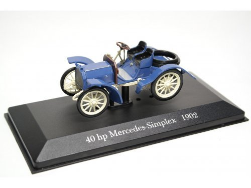 1:43 Altaya Mercedes Simplex 40 PS 1902 синий с белым