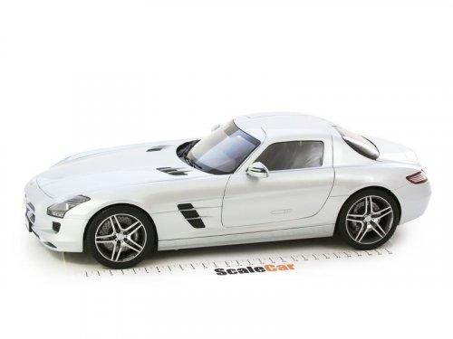 1:12 Premium ClassiXXs Mercedes-Benz SLS AMG C197 серебристый