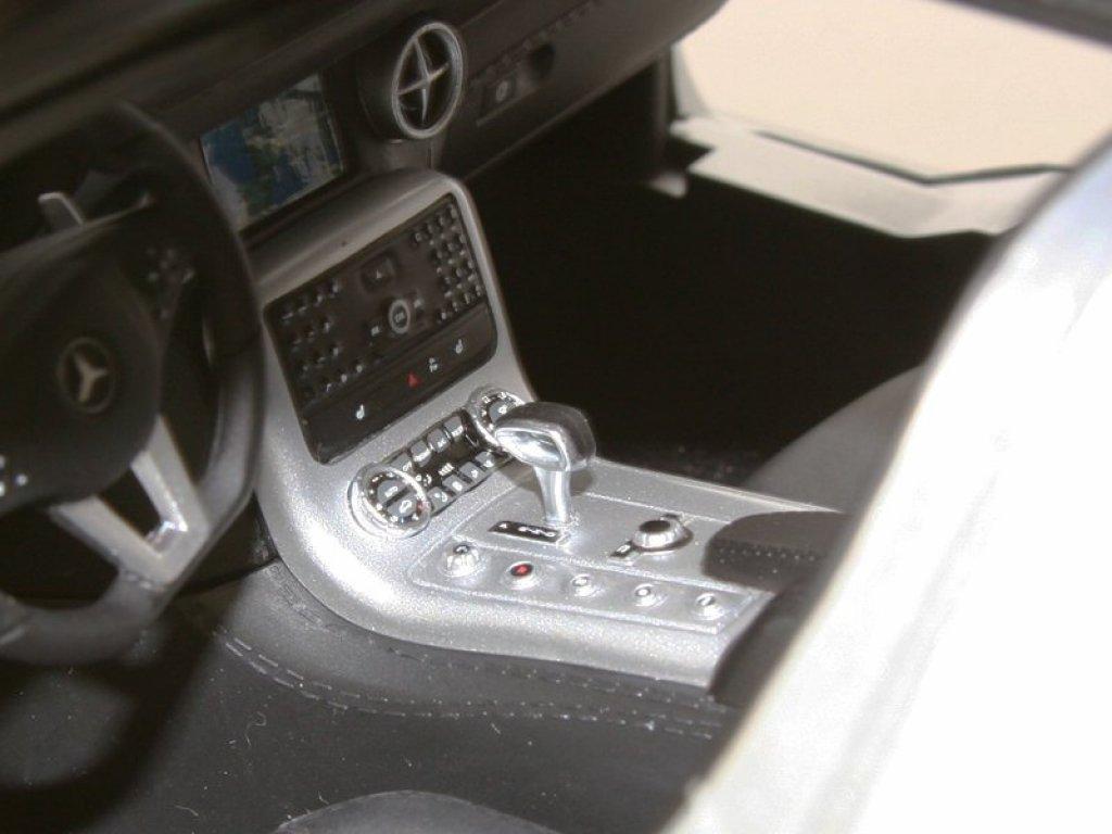 1:12 Premium ClassiXXs Mercedes-Benz SLS AMG C197, Silver metallic