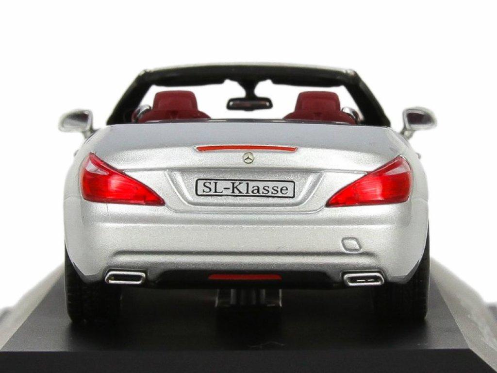 1:43 Norev Mercedes-Benz SL R231 2012 silver metallic