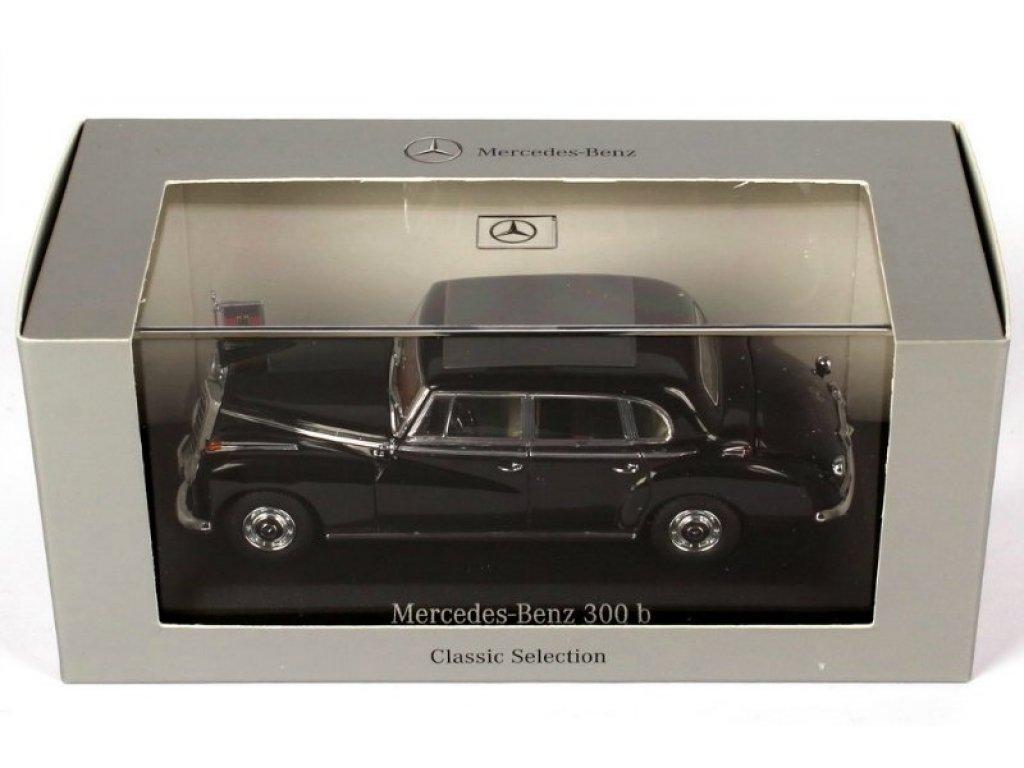 1:43 Minichamps Mercedes-Benz 300b Adenauer W186 schwarz