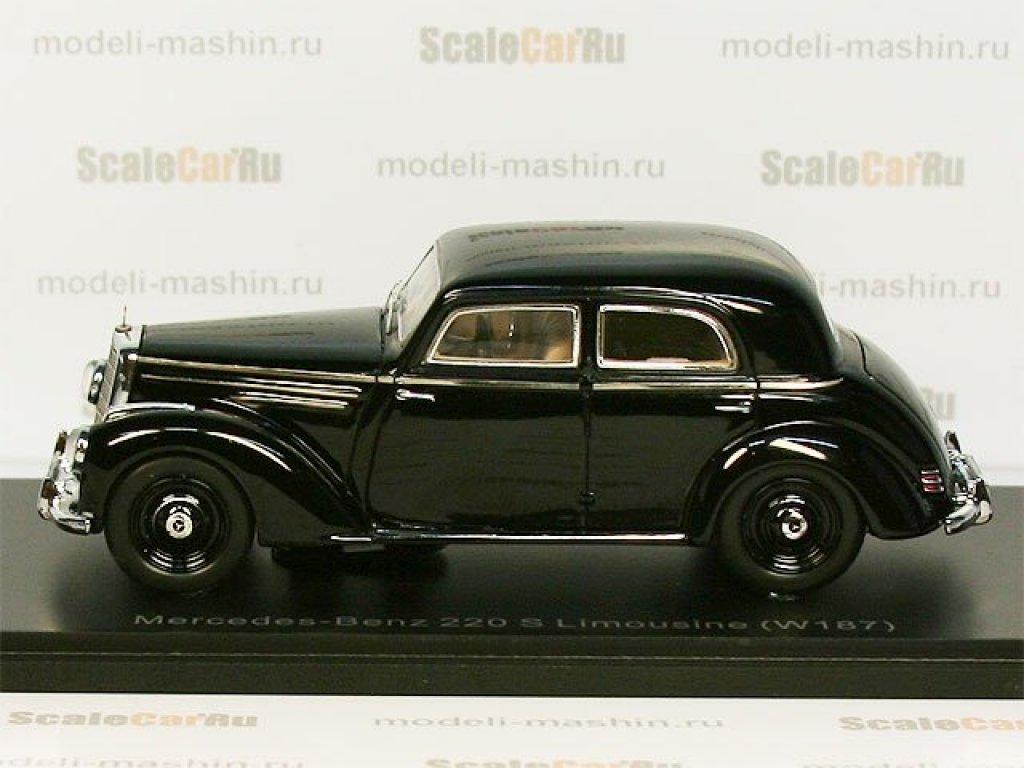 1:43 Spark Mercedes-Benz 220 W187 1951 черный