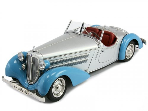 1:18 CMC Audi 225 Front Roadster 1935 (blue/silver)