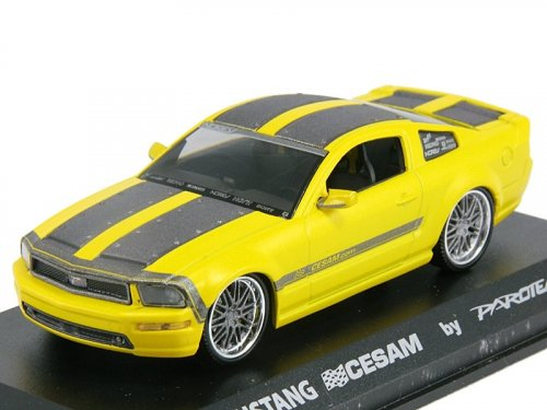 1:43 Norev Ford Mustang CESAM 2007 yellow тюнинг от Parotech