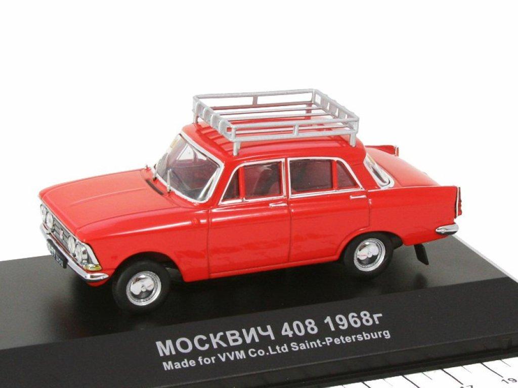 1:43 IST Москвич 408 1968 Бриллиантовая рука