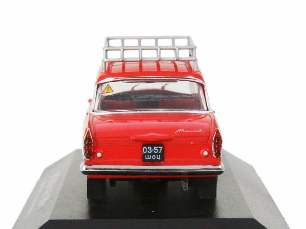 1:43 IST Москвич 408 1968 Бриллиантовая рука, красный с багажником