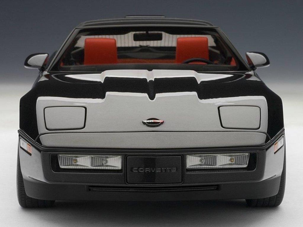 1:18 AUTOart Chevrolet CORVETTE 1986 (BLACK)