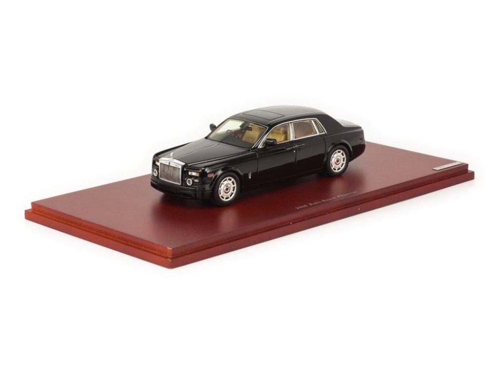1:43 True Scale Miniatures Rolls Royce Phantom Sedan 2009 Diamond Black