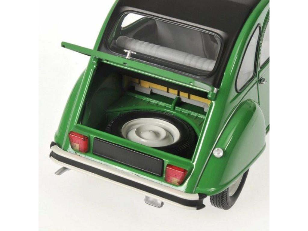 1:18 Minichamps Citroen 2CV - 1976 - GREEN