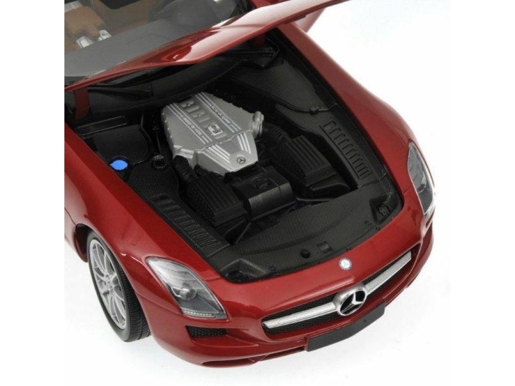 1:18 Minichamps Mercedes-Benz SLS-CLASS - AMG ROADSTER - 2011 - RED METALLIC