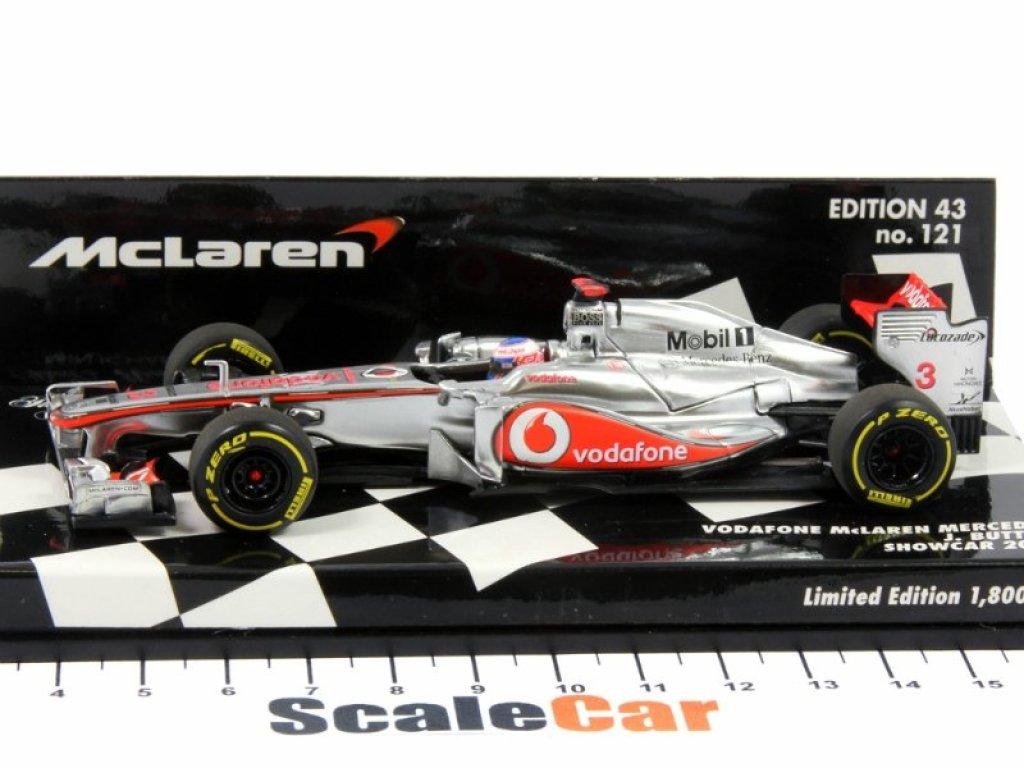 1:43 Minichamps McLaren VODAFONE MCLAREN MERCEDES - SHOWCAR - JENSON BUTTON - 2012