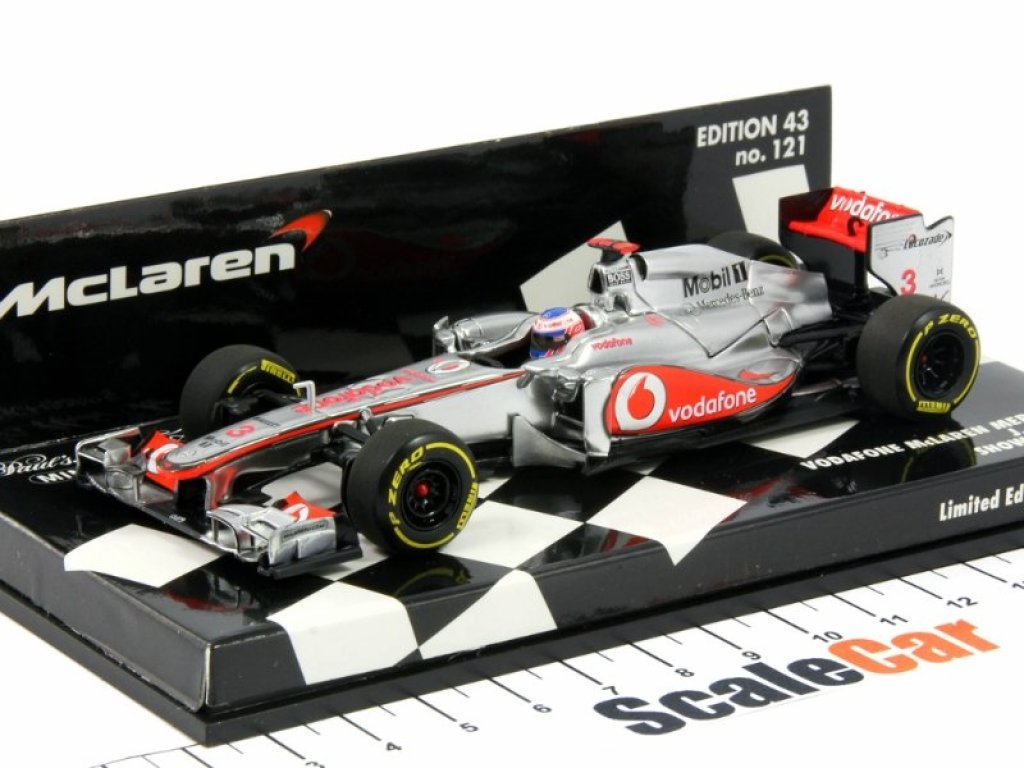 1:43 Minichamps Vodafone McLaren Mercedes Showcar 2012 Jenson Button