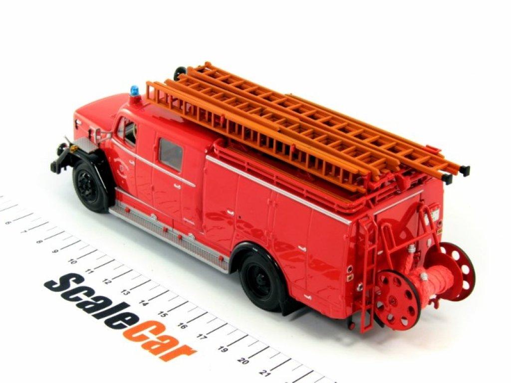 1:43 Minichamps Magirus Deutz 150D10 LF16 Feuerwehr Dusseldorf Пожарный