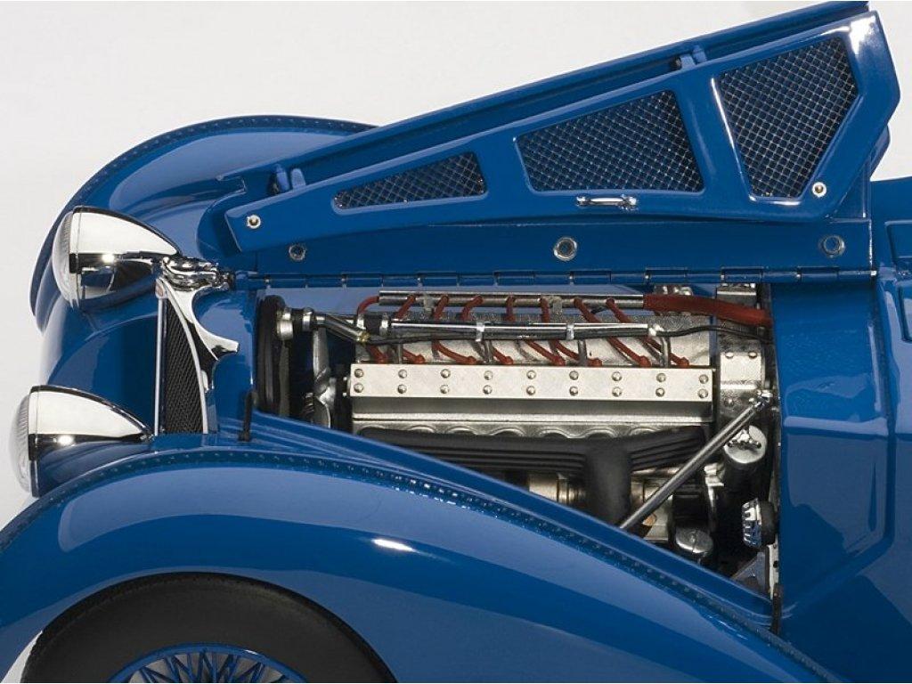 1:18 AUTOart Bugatti Atlantic 57S 1936 Blue (со спицованными колесами)