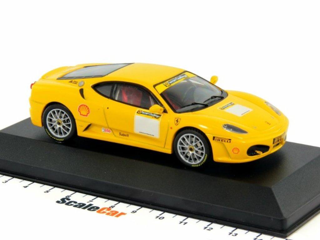 1:43 IXO Ferrari F430 CHALLENGE Fiorano Test Yellow 2006